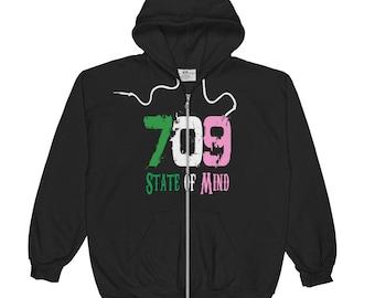709 State of Mind Original - Zip Hoodie