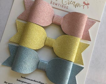 Color Changing Bows, Baby Bows, Baby headbands