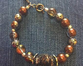 Bronze Charm Bracelet