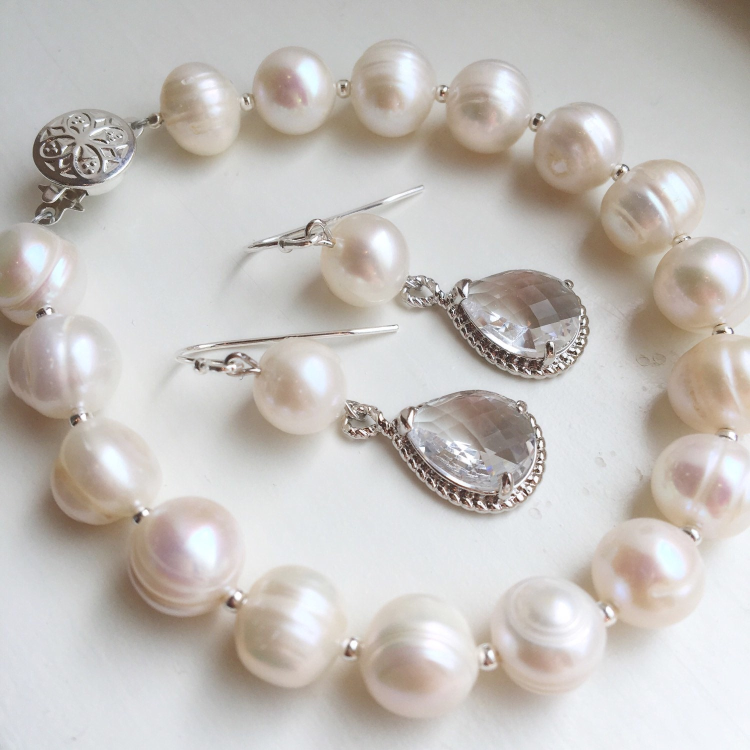 white papaya freshwater shop jewellery bracelets cultured by honey bracelet pearl