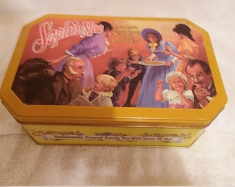 """Vintage """"Sophie Mae"""" Candy Confectioners Limited Edition Tin"""