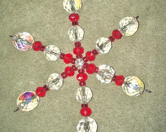 Ruby Red Crystal Sun-catcher (Small)
