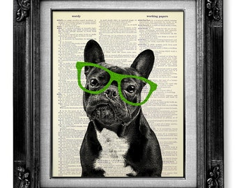 GEEKERY Office Art, DOG Art Print, Geekery Art, OFFICE Wall Art, Funny