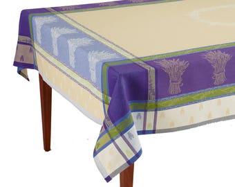 Lavandine Lavande French Jacquard Tablecloth