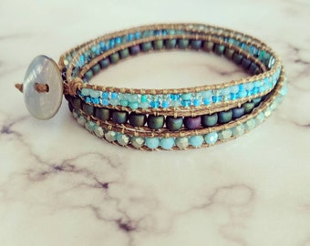 Laguna Beach Triple Wrap Bracelet