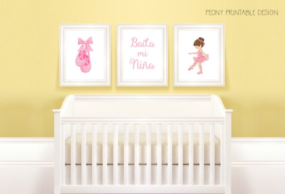 Luxury Nursery Wall Art Girl Picture Collection - Wall Art Design ...