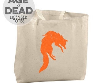Age of Dead KB Brenner Rise of Rot Bear Tote Bag Fox Tote Bag Hawk Tote Warrior Canvas Bag Fish Tote Bag Book Totes Book Tote Bag Reusable
