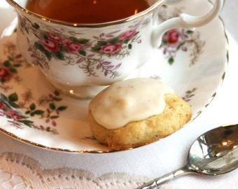 Eggnog Cookies with an Eggnog Glaze (TWO DOZEN)