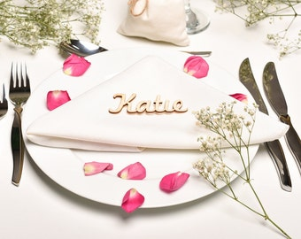 Wedding Place Card, Wedding Place Setting, Name Place Setting, Wedding Favours,