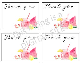Plexus Thank You Note cards, DIGITAL FILE