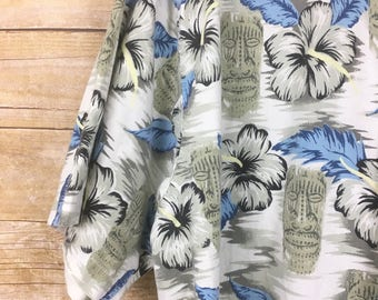 Vintage Hawaiian Shirts/floral shirts/hibiscus/hawaiian shirt/large/XL