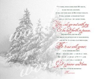 Go Out With Joy Winter Wonderland Fine Art Photograph