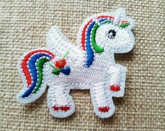 Pegasus animal applique, pegasus patches, applique, patch,applique, motifs, clothes art work,Iron On Patches,Embroidered,