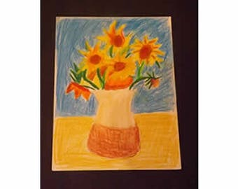 Vincent Van Gogh Art Lesson