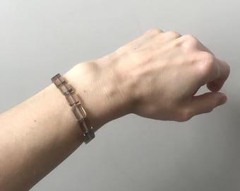 Smoky quartz Acupressure Bracelet