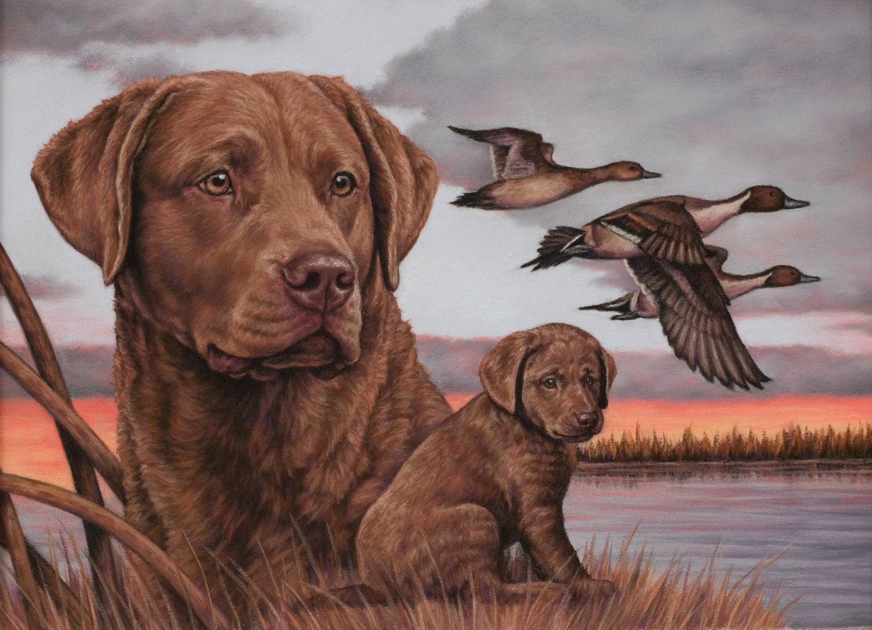 Chesapeake Sunset 2010 CA Ducks Unlimited Sponsor Print
