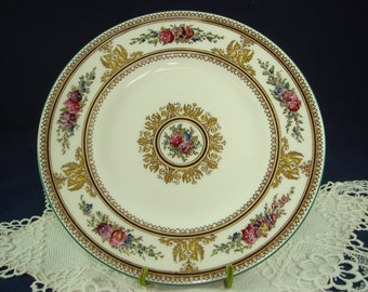 Wedgwood Columbia Tea Plate Bone China Made in England W595