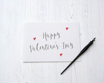 Valentine's Day Card, Valentine's Card, Valentine's Card for Him, Valentine's Card for Her, Typography Valentine's Card, Chic Valentine's