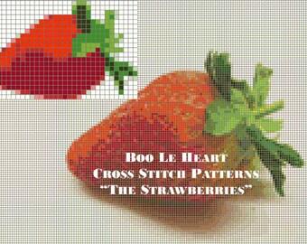 Cross Stitch Pattern: The Strawberries