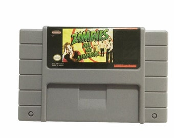 Zombies Ate My Neighbors SNES Reproduction Cart