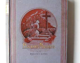 Pilgrim's Progress by John Bunyan with Mason's Notes Illustrated 1886
