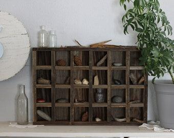 Wood Shelves, Reclaimed Wood Shelves, Wooden Advent, Rustic Advent Calendar, Apothecary Shelf, Wooden Advent Calendar, Farmhouse Decor