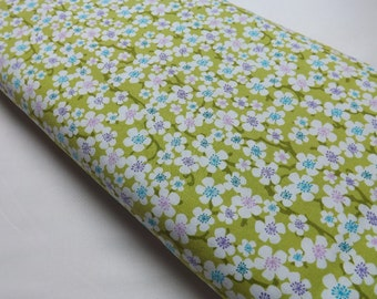 Michael Miller Blossom Blur in Apple Quilting and Sewing Fabrics