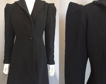 1930s princess coat