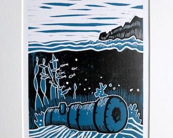 Dorset shipwreck: The Skylark at Kimmeridge
