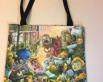 Charlie and the Chocolate Factory Tote Bag