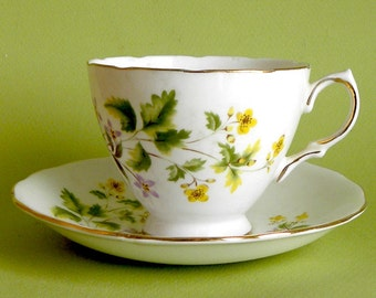 Bone China Cup and Saucer