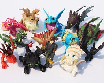 Dragon cake topper etsy how to train your dragon set of 13 2 3 birthday cake topper ccuart Choice Image