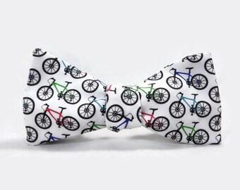 Bike bowtie, Bicycle bowtie, mountain bike bowtie, cyclist bowtie, bike accessory, bicycle gift, mini bike bowtie