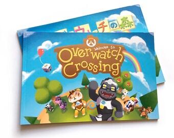 Overwatch Crossing Fanzine Animal Crossing Book New Leaf Tracer