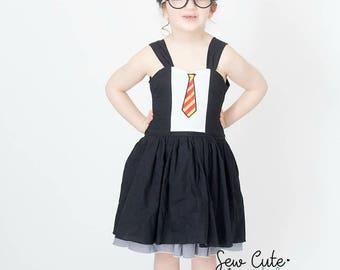Harry Potter Dress- Harry Potter- Hogwarts Dress- Harry Potter Birthday- Harry Potter Costume- Universal Studios Trip- Vacation Dress