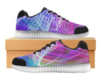 LED Print or Customize Print Light up Shoes