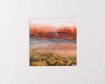 Acrylic Painting, Abstraction Paintings, Contemporary Art, Nature, Original Art, Painting by Iluzjadesign.
