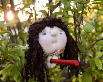 Mirabella the KitchenWitch. Folklore. Good luck doll for your kitchen!