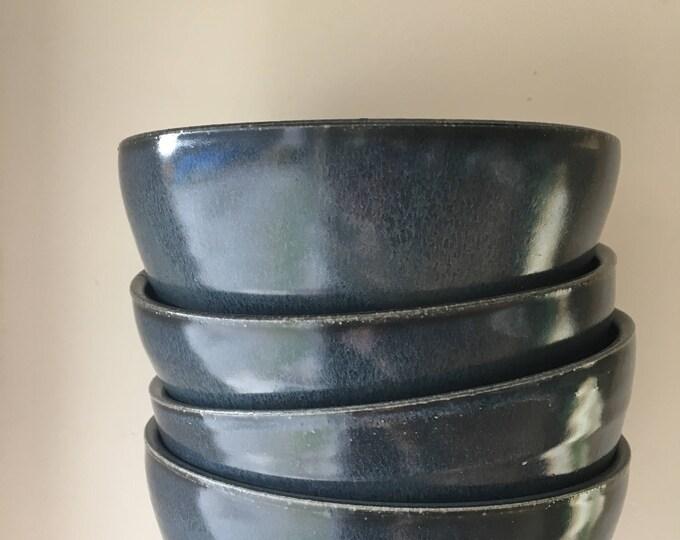 Large Dinner Bowls - Porcelain - Ceramics & Pottery - Handmade - KJ Pottery