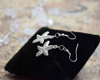 Stainless Steel Earrings Starfish