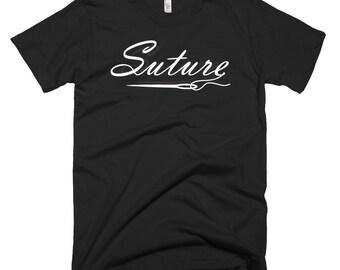 Suture Logo Short Sleeved T-Shirt