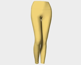 Yellow Yoga Pants (leggings)