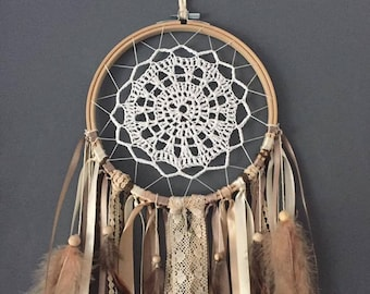 Dream catcher ecru beige taupe