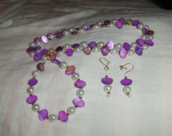 Oval Orchids 3 piece set