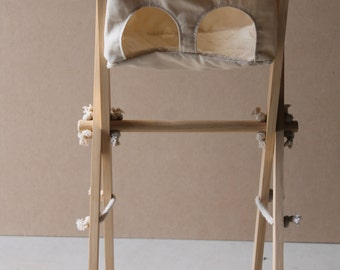 Wooden Dolls Highchair