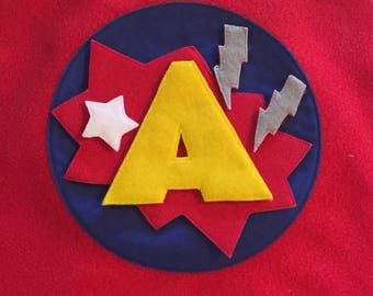 """Velcro-Friendly """"Blast"""" Patch for layering on DIY Capes"""