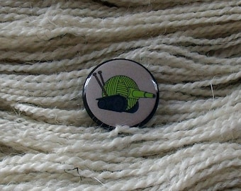 "Tanks For All The Yarn 1"" Button for Knitting Knitters Who Knit"