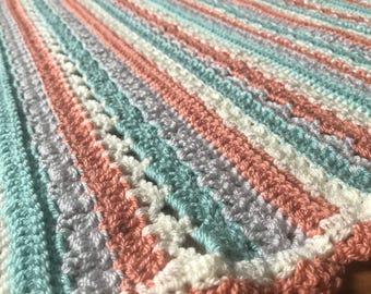 Bella Crochet Baby Blanket