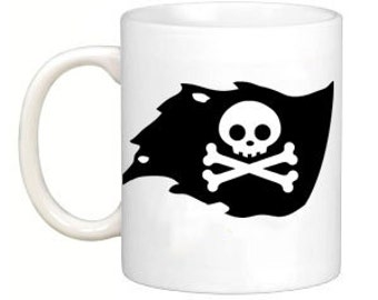 Pirate Flag Coffee or Tea Mug