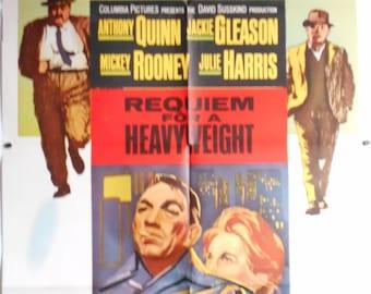 Requiem For A Heavyweight - 1962 - Original US one sheet movie poster